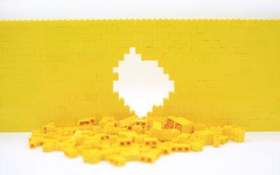 Stop and Appreciate the Small Individual Lego Block
