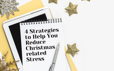 Four Strategies to Help You Reduce Christmas-related Stress
